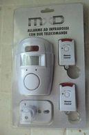 ALLARME AD INFRAROSSI CON DUE TELECOMANDI NUOVO IN BLISTER - Technical