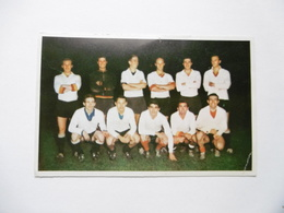 19D - Carte Postale Chromo Ets Dagneaux Lodelinsart Football O C Charleroi 1963 - Trade Cards