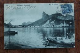 RIO DE JANEIRO - BOTAFOGO E CORCOVADO (BRESIL) - Rio De Janeiro