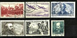 Francia Nº 539/543-545 En Usado - Used Stamps