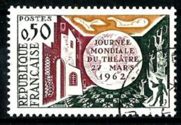 Francia Nº 1334b (sin Polo Sur) USADO - Sin Clasificación
