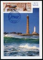 FRANCE (2017). Carte Maximum Card - ATM LISA - Société Nationale Sauvetage En Mer SNSM 50 - Phare, Lighthouse - Brest - 2010-...