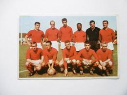 19D - Carte Postale Chromo Ets Dagneaux Lodelinsart Football Standard C L 62-63 - Trade Cards