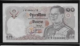 Thaïlande - 10 Baht - Pick N°87 - SUP - Thailand