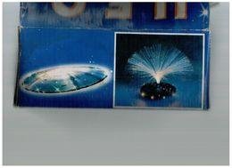 UFO FLASH LAMP LAMPADA FIBRE OTTICHE VINTAGE FUNZIONANTE SPACE AGE DESIGN - Giocattoli Antichi