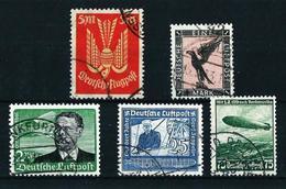 Alemania Imperio - LOTE (5 Sellos) USADO - Germany