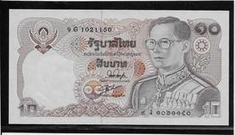 Thaïlande - 10 Baht - Pick N°87 - NEUF - Thailand