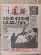 Journal Libération (15 Fév 1993) Char Leclerc - Rushdie - Enigme Réunionnais Creuse - Mick Jagger - Zeitungen