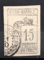 DIEGO SUAREZ - YT N° 8 - Cote: 110,00 € - Diégo-Suarez (1890-1898)