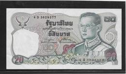 Thaïlande - 20 Baht - Pick N°88 - SUP - Thailand