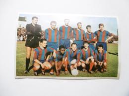 19D - Carte Postale Chromo Ets Dagneaux Lodelinsart Football FC Liégeois 62-63 Decolée Mais Sans Manque - Trade Cards