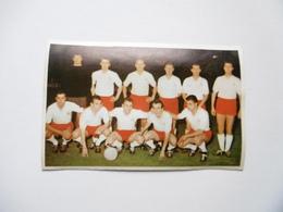 19D - Carte Postale Chromo Ets Dagneaux Lodelinsart Football FC Antwerp 62-63 Decolée Mais Sans Manque - Trade Cards
