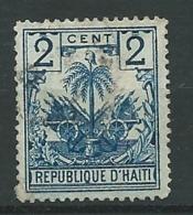 Haiti -  Yvert N° 28 Oblitéré - Ah 30535 - Haiti