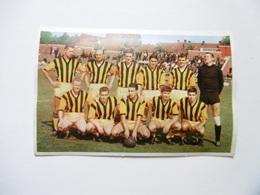 19D - Carte Postale Chromo Ets Dagneaux Lodelinsart Football Berchem Sport 62-63 Decolée Mais Sans Manque - Trade Cards