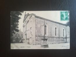 CPA 33 BLAYE - L'église St-Romain (f) - Blaye