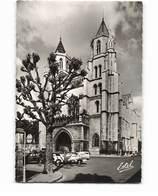 21 Dijon Cathedrale Saint Benigne Vieille Voiture Auto CPSM GF Edit Estel N°6601 Photo - Dijon