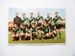 19D - Carte Postale Chromo Ets Dagneaux Lodelinsart Football CS Brugget Sport 62-63 Decolée Mais Sans Manque - Trade Cards