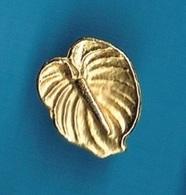 1 PIN'S  //   **  FLEUR D'ANTHURIUM ** - Pin's