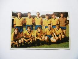 19D - Carte Postale Chromo Ets Dagneaux Lodelinsart Football Union Saint Gilloise Sport 62-63 Decolée Mais Sans Manque - Trade Cards
