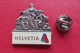 Pin's,Assurance,HELVETIA,Suisse,limitée, 3D - Trademarks