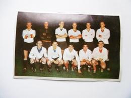19D - Carte Postale Chromo Ets Dagneaux Lodelinsart Football Union OC Charleroi Sport 62-63 Decolée Mais Sans Manque - Trade Cards