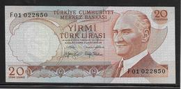 Turquie - 20 Lira - Pick N°187a - NEUF - Turquia