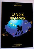 TINTIN • HARRY EDWOOD • LA VOIX DU LAGON • HOMMAGE À HERGÉ• PARODIE PASTICHE - Tintin