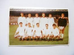 19D - Carte Postale Chromo Ets Dagneaux Lodelinsart Football Sc Anderlecht  Sport 62-63 Decolée Mais Sans Manque - Trade Cards