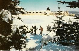 Village Valcartier Québec Canada - Mont Saint-Sacrement - Ski - Centre Plein Air - École - 2 Scans - Quebec
