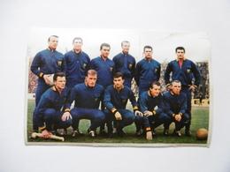 19D - Carte Postale Chromo Ets Dagneaux Lodelinsart Football Diable Rouge Duivels Rode 62-63 Decolée Mais Sans Manque - Trade Cards
