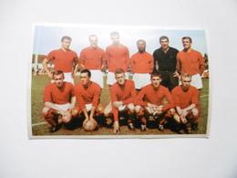 19D - Carte Postale Chromo Ets Dagneaux Lodelinsart Football Standard CC 62-63 Decolée Mais Sans Manque - Trade Cards