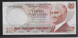 Turquie - 20 Lira - Pick N°187b - NEUF - Turkije