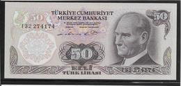 Turquie - 50 Lira - Pick N°188 - NEUF - Turkije