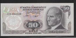 Turquie - 50 Lira - Pick N°188 - NEUF - Turchia