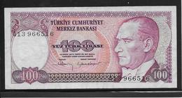 Turquie - 100 Lira - Pick N°194 - TTB - Turchia