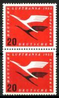 Alemania Federal Nº 84 (pareja Vertical) En Nuevo - [7] Federal Republic