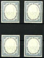 Alemania Federal Nº 86 (4 Sellos) Con Charnela - [7] Federal Republic