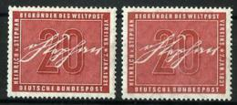 Alemania Federal Nº 104 (2 Sellos) En Nuevo - Unused Stamps