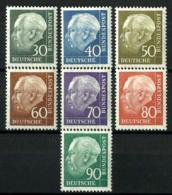 Alemania Federal Nº 125A/28B Con Charnela - [7] Federal Republic