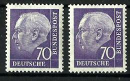 Alemania Federal Nº 128 (2 Sellos) En Nuevo - [7] Federal Republic