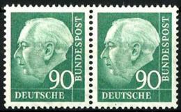 Alemania Federal Nº 128B (pareja Horizontal) En Nuevo - [7] Federal Republic