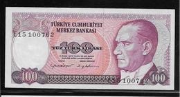 Turquie - 100 Lira - Pick N°194 - NEUF - Turkey