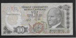 Turquie - 100 Lira - Pick N°189 - TB - Turkey