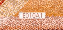 50 EURO FRANCE  EB E010 A1 FIRST POSITION - DRAGHI   UNC - EURO