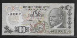 Turquie - 100 Lira - Pick N°189 - TB - Turquia