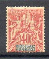 DIEGO SUAREZ - YT N° 34 - Neuf ** - MNH - Cote: 70,00 € - Diégo-Suarez (1890-1898)