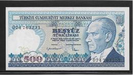 Turquie - 500 Lira - Pick N°195 - NEUF - Turkey