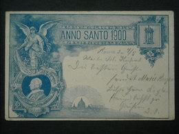 Alte AK Anno Santo 1900 - Gelaufen (61) - Vatikanstadt