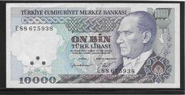 Turquie - 10000 Lira - Pick N°200 - SUP - Turquie