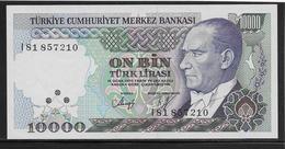 Turquie - 10000 Lira - Pick N°200 - NEUF - Turquie